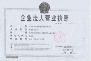 【阳光学府教育发展有限公司】营业执照